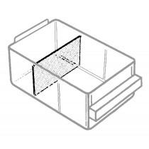 Trennwand für Schublade 150-02, transparent
