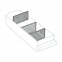 Trennwand für Schublade 250-01, transparent (36 Stück per Satz)