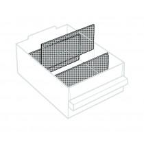 Trennwand für Schublade 250-02, transparent