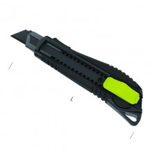 Cuttermesser Black Blade mit gummiertem Griff 185 mm