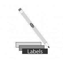 Regal-Sichtboxen Etiketten (12 Stk.)