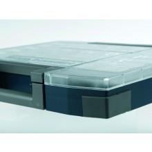Etiketten grau (4 Stk.) für Boxxser Sortimentskoffer