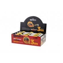 BasicSeries Display mit 12 Rollbandmaßen 3 m 16 mm