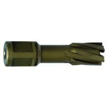 Hartmetall-bestückter Kernbohrer, Weldonschaft, Nutzlänge 40 mm, Hard-Line40