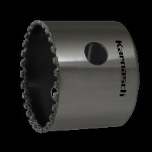 Diamant-bestreute Lochsägen, Nutzlänge 38 mm, in vielen Durchmessern erhältlich