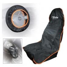 Schutz für Sitz, Lenkrad und Knauf