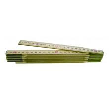 Holz-Maßstab 2 m aus Birke