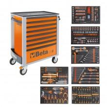 Beta Easy Werkzeugwagen C24S8 + 384-tlg. Sortiment