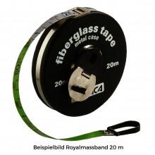 Royalmassband Lederüberzug Klapp-Handkurbel 10 m