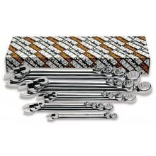 Ring-Maulschlüsselsatz, 14teilig, lange Ausführung (Art. 42LMP)