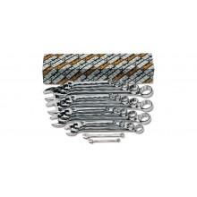Ring-Maulschlüsselsatz, 17teilig (Art. 42MP)