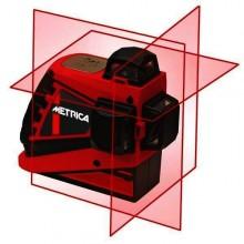 Lasernivelliergerät 3D Junior mit Li-ion Batterien (aufladbar) im Koffer - roter Laser