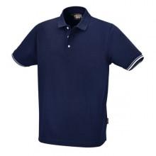 Polo-Shirt mit 3 Knöpfen, 100 % Baumwolle, Größe XL