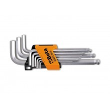 Sechskant-Stiftschlüsselsatz 9teilig mit Halterung