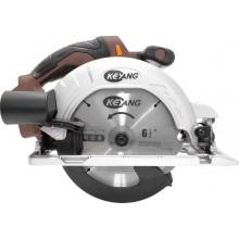 Akku-Handkreissäge 165mm, Schnitttiefe 57mm, 18V 4000 U/min ohne Akku,Koffer und Zubehör