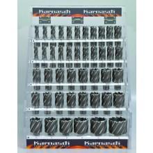 Display 44 Stück Kernbohrer Silver-Line 50