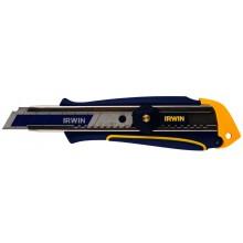 Abbrechklingenmesser mit Feststellschraube, Bi-Metall Klinge - 18mm