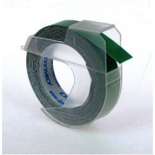 3D-Prägeband, 9mm x 3m, glänzend grün