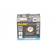 BasicSeries Box mit 20 Köchern Abbrechklinge 18 mm (CS18) / Gesamt: 200 Stk.