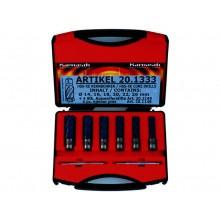 Kernlochbohrer-Set 8-teilig, FEIN Quick-In - Schnitttiefe 40 mm